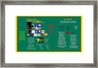 Fulfilling Prophecy Framed Print