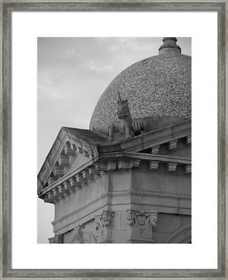 Fulford Fountain Corner Framed Print by Maria Bonnier-Perez