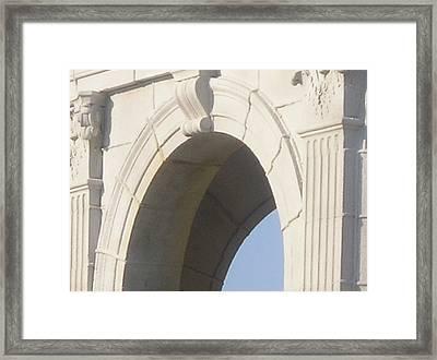Fulford Fountain Detail II Framed Print by Maria Bonnier-Perez