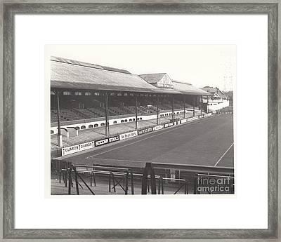 Fulham - Craven Cottage - East Stand Stevenage Road 1 - Leitch - September 1969 Framed Print by Legendary Football Grounds