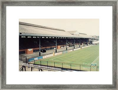Fulham - Craven Cottage - East Stand Stevenage Road 3 - Leitch - August 1991 Framed Print by Legendary Football Grounds