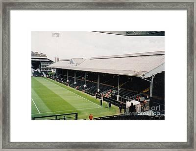 Fulham - Craven Cottage - East Stand Stevenage Road 4 - Leitch - July 2004 Framed Print by Legendary Football Grounds