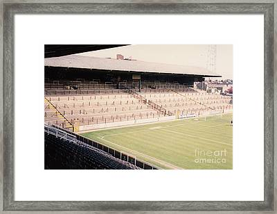 Fulham - Craven Cottage - North Stand Hammersmith End 1 - April 1991 Framed Print by Legendary Football Grounds