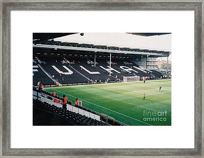 Fulham - Craven Cottage - North Stand Hammersmith End 3 - July 2004 Framed Print by Legendary Football Grounds