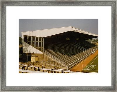 Fulham - Craven Cottage - Riverside Stand 2 - August 1986 Framed Print by Legendary Football Grounds