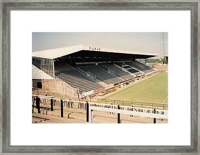 Fulham - Craven Cottage - Riverside Stand 3 - September 1991 Framed Print by Legendary Football Grounds