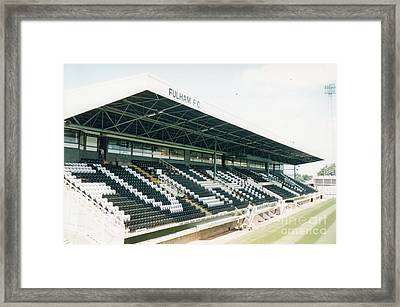 Fulham - Craven Cottage - Riverside Stand 4 - August 1998 Framed Print by Legendary Football Grounds