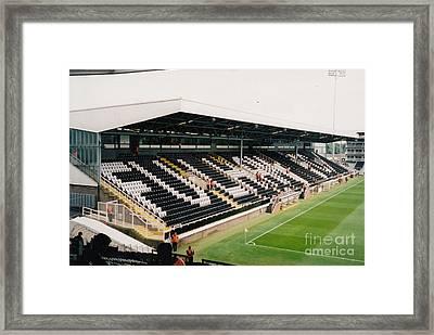 Fulham - Craven Cottage - Riverside Stand 5 - July 2004 Framed Print by Legendary Football Grounds