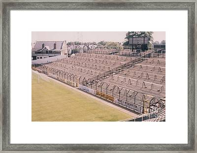 Fulham - Craven Cottage - South Stand 1 - August 1986 Framed Print by Legendary Football Grounds