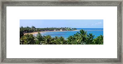 Full Beach View Framed Print by Suhas Tavkar