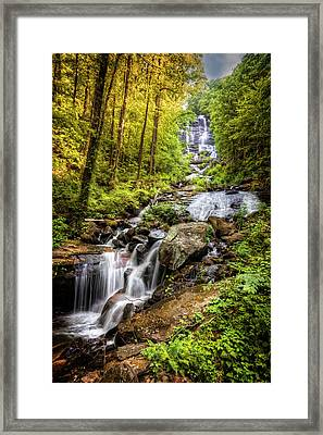 Full Beauty Amicalola Falls Framed Print