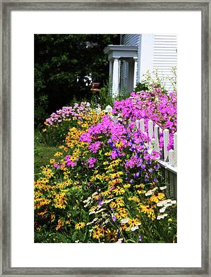 Framed Print featuring the photograph Full Bloom by Carol Kinkead