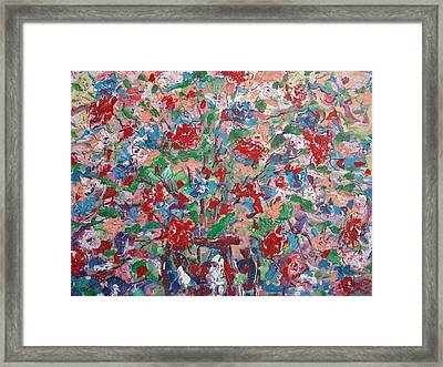 Full Bloom. Framed Print