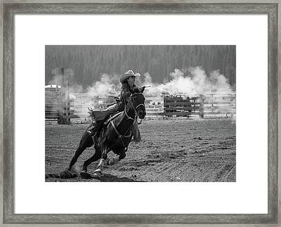 Full Bore Framed Print
