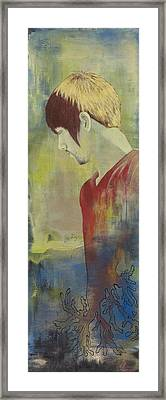 Full Circle Framed Print by Nicole Williams