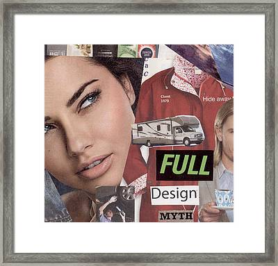 Full Design Myth Framed Print by Chaperone Picks