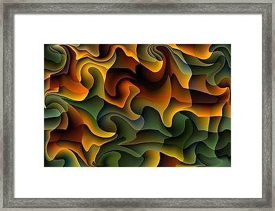 Full Frills Framed Print