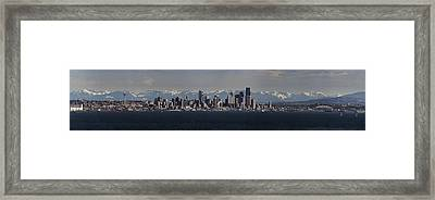 Full Frontal Seattle Framed Print