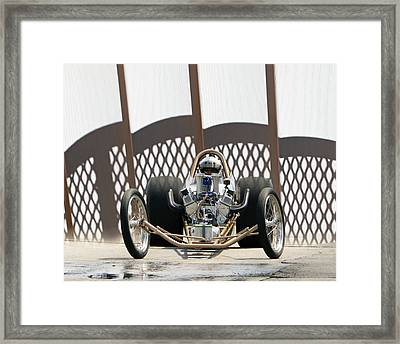 Full Frontal Slingshot Framed Print