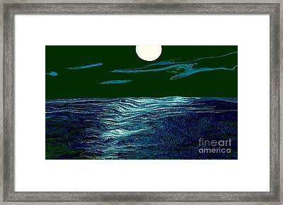 Full Moon 3 Framed Print