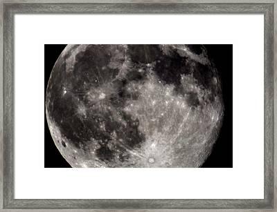 Full Moon 7-31-15 Framed Print