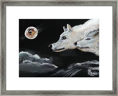 Full Moon Framed Print by Carole Robins