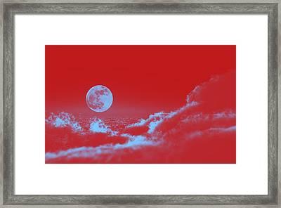 Full Moon Framed Print by Celestial Images