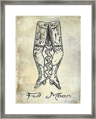 Full Moon Corkscrew Framed Print by Jon Neidert