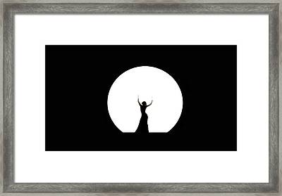 Full Moon Dance Framed Print
