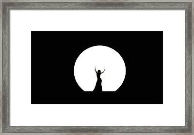 Full Moon Dance Framed Print