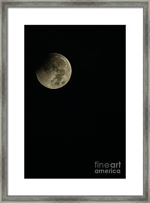 Full Moon Eclipse Framed Print by Thomas R Fletcher