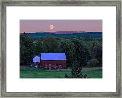 Full Moon From High Street Framed Print