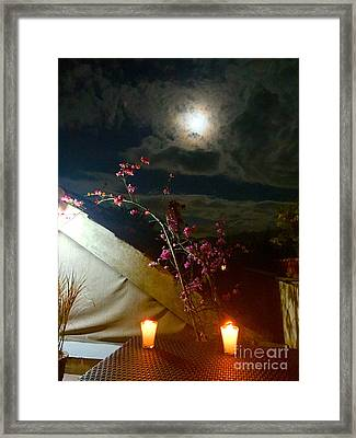 Full Moon Guatemala Framed Print