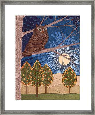 Full Moon Illumination Framed Print by Pamela Schiermeyer