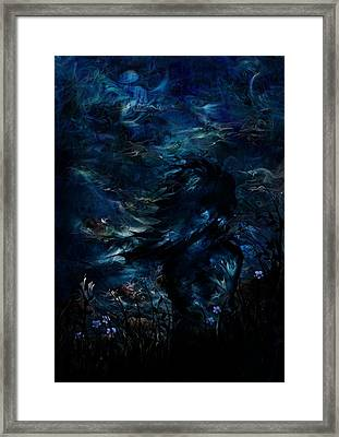 Full Moon Framed Print by Rachel Christine Nowicki
