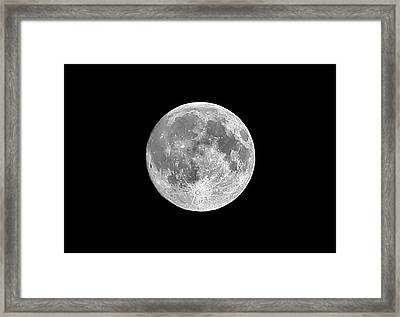 Full Moon Framed Print by Richard Newstead
