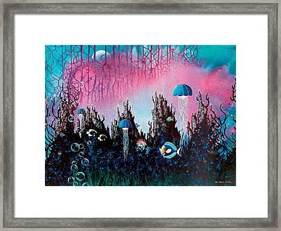 Full Moon Rising Framed Print by Lee Pantas