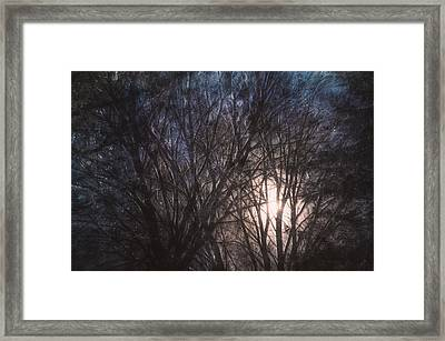 Full Moon Rising Framed Print by Scott Norris