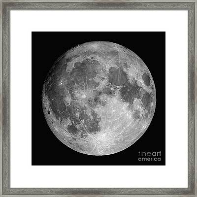 Full Moon Framed Print by Roth Ritter