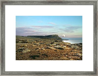 Full Moon Framed Print by Stelios Kleanthous