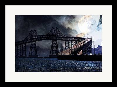 Richmond-san Rafael Bridge Framed Prints