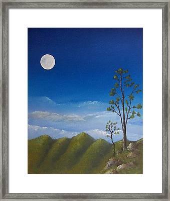 Full Moon Framed Print by Tony Rodriguez
