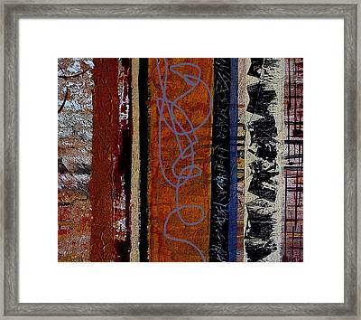 Full Of Surprises Framed Print