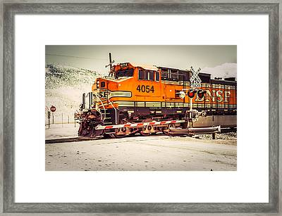 Full Of The Force Framed Print