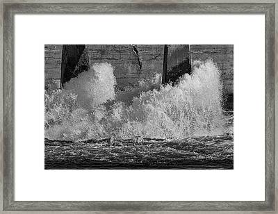Framed Print featuring the photograph Full Power by Thomas Young