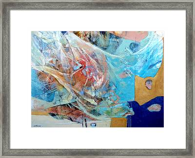 Full Sails Framed Print by Dale  Witherow