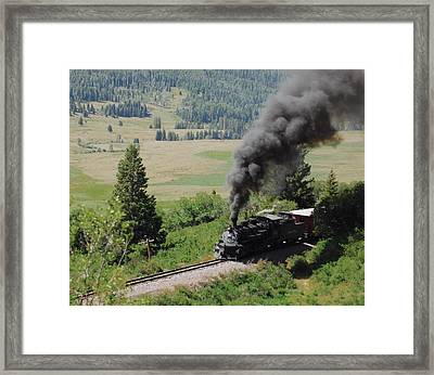 Full Steam Ahead Framed Print
