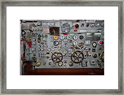 Full Steam Ahead Framed Print by Christopher Holmes