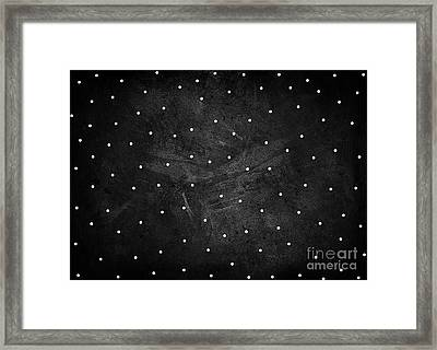 Full Stop Framed Print
