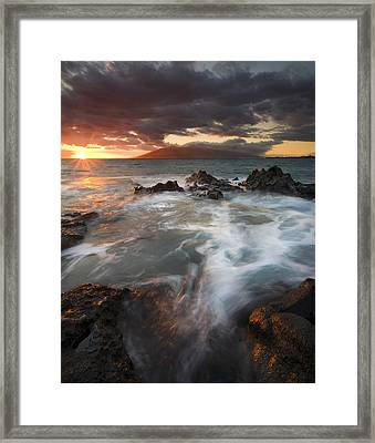 Full To The Brim Framed Print by Mike  Dawson